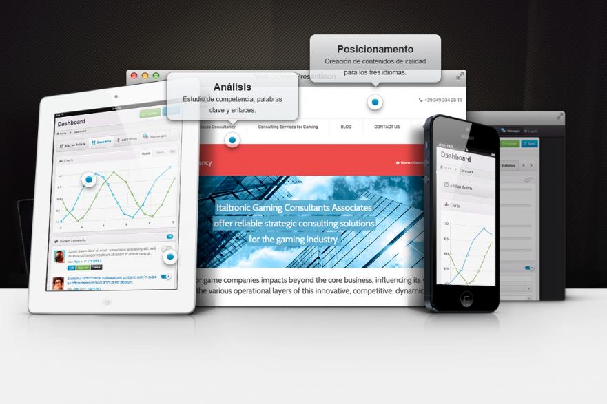 Diseño web y posicionamiento en buscadores