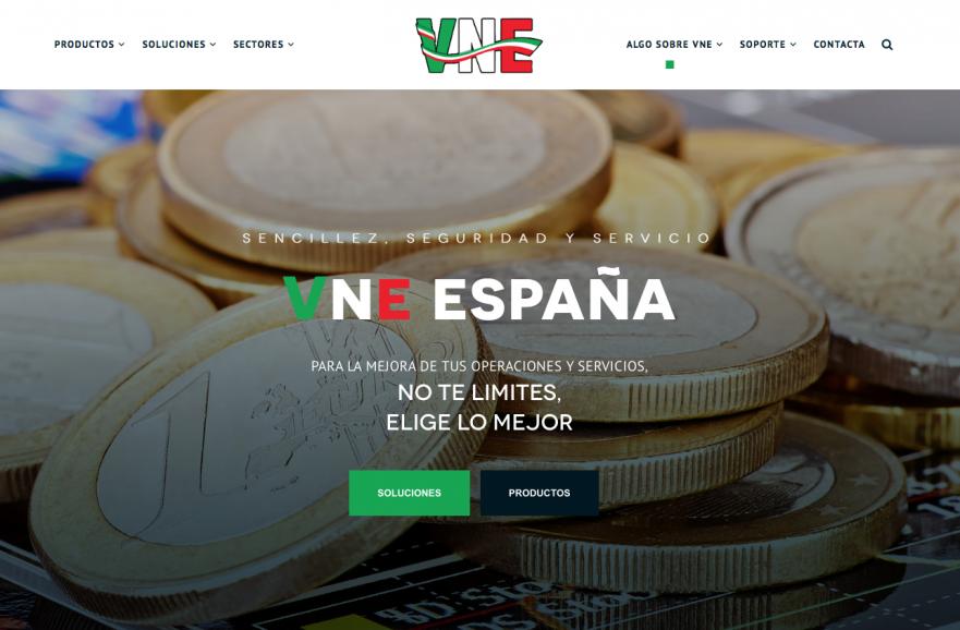 La nueva web de VNE España, realizada por Nomadic Blink