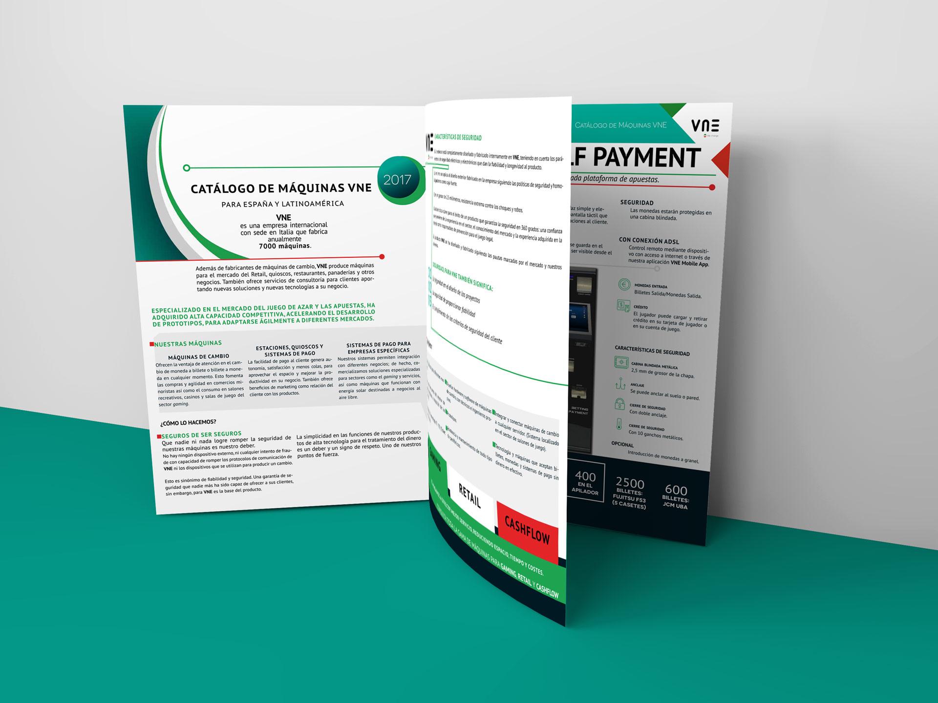 Catálogo de máquinas de cambio y sistemas de gestión y control de efectivo VNE 2017
