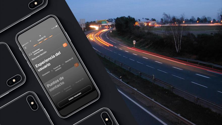 Edición de vídeo para prototipo de app para aprovechar el tiempo en trayectos